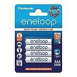 Panasonic eneloop, Ready-to-Use Ni-MH Akku, AAA...