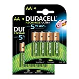 Duracell Recharge Ultra AA Mignon Akku Batterien...