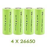 DTK 3.7v Akku Batterie, 5000mah 4 Stück