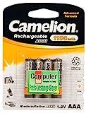4x Camelion AAA Akku für Telefon Siemens Gigaset...