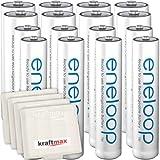 Kraftmax 16er-Kombipack Panasonic Eneloop Akkus 8...