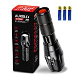 Aukelly Taschenlampe LED Extrem Hell LED...