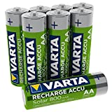Varta Recharge Accu Solar AA Mignon Ni-Mh Akku 8er...