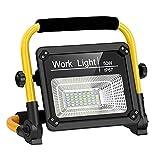 Linkax LED Baustrahler Akku, 50W 4000LM LED...