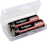 kraftmax 2er Pack HDX High Drain Akku - 3,7V / 25A...