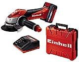 Einhell Akku-Winkelschleifer TE-AG 18/115 Li Kit...
