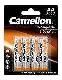 Camelion 17027406 Akku (NiMH, R6, Mignon, AA, 2700...