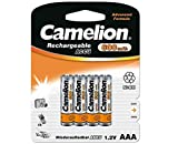 4X Camelion Akku AAA 600 mAh Micro NiMH...