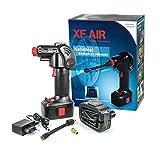 KN-TECH XF Air Akku Luftpumpe mit Akku und Auto...
