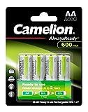 Camelion NH-AA600ARBP4 Ni-MH Akku HR6/AA/Mignon,...