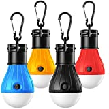 Campinglampe, 4 Stücke Wasserdicht Tragbare LED...