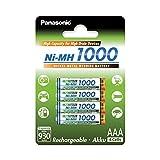 Panasonic High Capacity, Akku Ni-MH 1000, AAA...