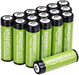 Amazon Basics AA-Batterien, wiederaufladbar,...