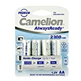 Camelion 17423406 Always Ready Akku (NiMH, R6, AA,...