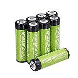 AmazonBasics AA-Batterien, wiederaufladbar,...