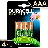 Duracell Recharge Ultra AAA Micro Akku Batterien...