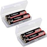 kraftmax 4er Pack HDX High Drain Akku - 3,7V / 25A...