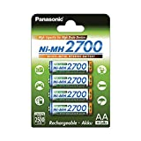 Panasonic High Capacity, Akku Ni-MH 2700, AA...